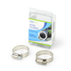 """Stainless Steel Hose Clamp (2) 1"""" to 1.5"""" additional picture 1"""