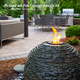 Fire Fountain Add-On Kit for Stacked Slate Urn & Sphere Fountains additional picture 6