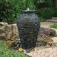 Medium Stacked Slate Urn Landscape Fountain Kit