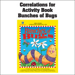 Bunches of Bugs Activity Book Common Core State Standards Correlations