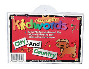 Magnetic Kidwords®-City & Country picture