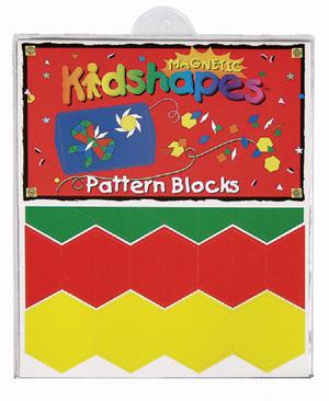 Magnetic Kidshapes™ Pattern Blocks picture