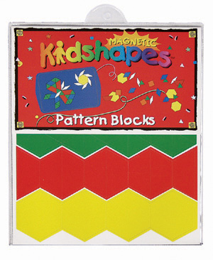 Magnetic Kidshapes™ Pattern Blocks picture
