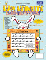 Happy Handwriting ABC Tablet (downloadable PDF) picture
