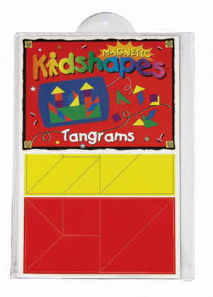Magnetic Kidshapes™ Tangrams picture