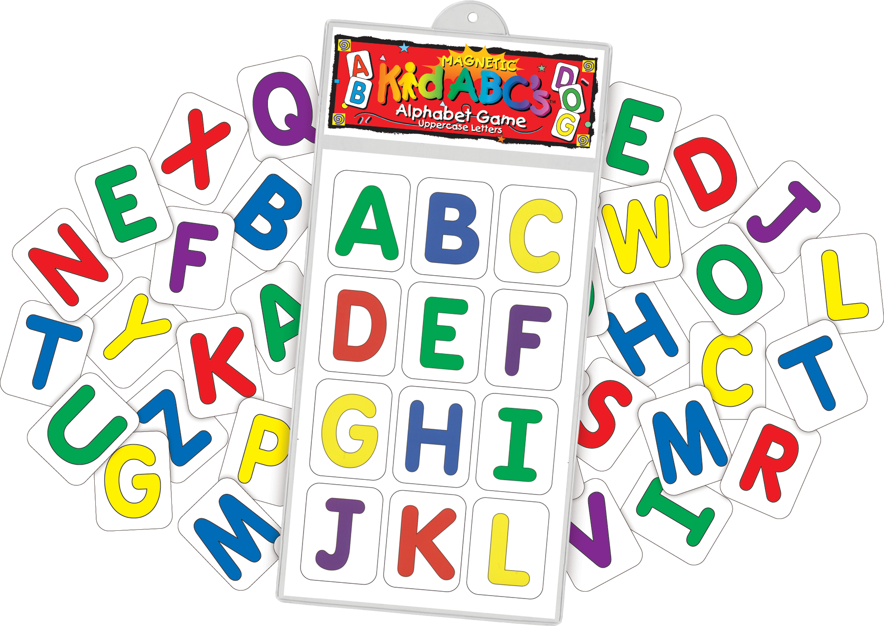 Magnetic KidABC's™ Uppercase Letters (with extras) picture