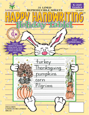 Happy Handwriting Holiday Tablet (downloadable PDF) picture