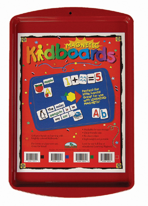 Learning Magnets® Red Kidboard™ picture