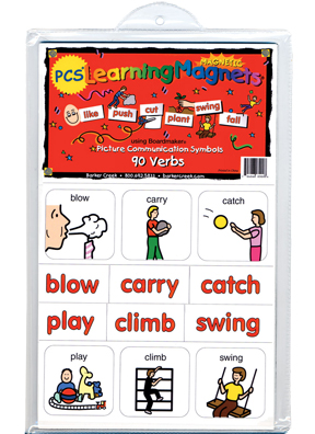 PCS® Learning Magnets® 90 Verbs picture