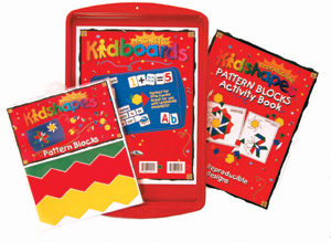 Learning Magnets® Pattern Block Activity Kit picture