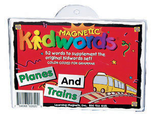 Magnetic Kidwords™ Planes & Trains picture