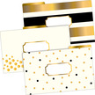 Legal File Folders Pack of 18 - 24k Gold additional picture 1