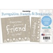 NEW! Friendship Awards & Bookmarks Set additional picture 2