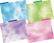 NEW!!  Tie-Dye and Ombré File Folders additional picture 1