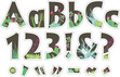 """NEW!! 4"""" Prickles Letter Pop-Outs additional picture 1"""