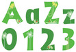 """Go Green 4"""" Letter Pop-Outs additional picture 1"""