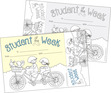 Color Me! Student of the Week Awards & Bookmarks Set additional picture 1