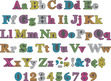 """4"""" Rainbow Chalkboard Letter Pop-Outs additional picture 2"""