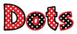 "Dots 4"" Letter Pop-Outs additional picture 2"