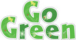 """Go Green 4"""" Letter Pop-Outs additional picture 2"""