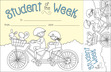 Color Me! Student of the Week Awards & Bookmarks Set additional picture 2