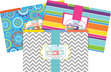 On Point Legal File Folders 9 each of 3 designs (Moroccan, Happy, Chevron Beautiful) additional picture 5