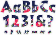"""NEW!! 4"""" Petals Letter Pop-Outs additional picture 1"""