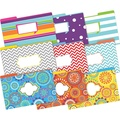 On Point Legal File Folders 9 each of 3 designs (Moroccan, Happy, Chevron Beautiful)