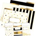 NEW! Folder/Pocket Set - Gold