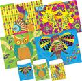 Folder/Pocket Set -  Bohemian Animals