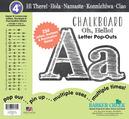 """4"""" Chalkboard Letter Pop-Outs"""