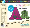 """4"""" Rainbow Chalkboard Letter Pop-Outs"""