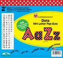 """Dots 2"""" Letter Pop-Outs"""
