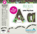 """NEW!! 4"""" Prickles Letter Pop-Outs"""