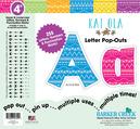"""4"""" Bohemian Letter Pop-Outs"""