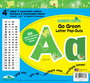 """Go Green 4"""" Letter Pop-Outs"""