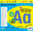 "ABC Animals 4"" Letter Pop-Outs"