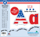 """USA 4"""" Letter Pop-Outs"""