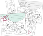 Color Me! Honor Roll Awards & Bookmarks Set
