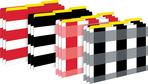 Buffalo Plaid & Wide Stripes File Folders