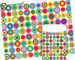 NEW! Folder/Pocket Set - Disco Dots