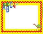 ABC Animals Name Tag