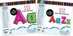"""Letter Pop-Outs Set - 2"""" & 4"""" Neon"""