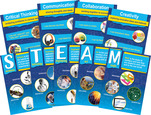NEW! STEM/STEAM Poster Set with 21st Century 4-C Skills