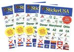 StickerUSA Sticker Book - 4 Pk