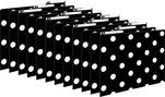 Black & White Dots File Folders