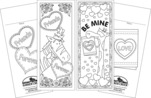 Celebrate Valentine's Day Bookmark Duet