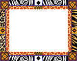 Africa Name Tag