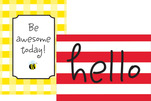 Poster Duet Set - Hello! You're Awesome