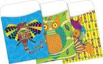 Peel & Stick - Bohemian Animals Library Pockets